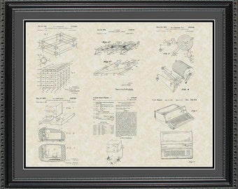 Computer Patent Collection Print Software Programmer Gift PCPTR2024