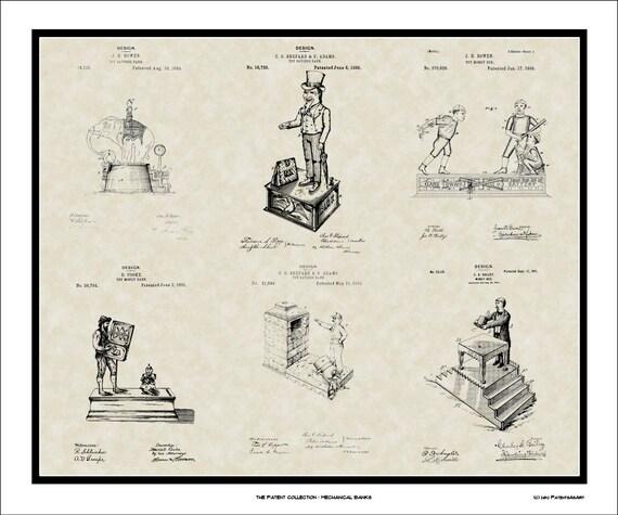 Ticker Tape Patent Art Stock Broker Trader Accountant Print Gift E6567