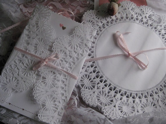 6 Inch SIlver Round Lancaster Doilies 100 Pack Sophie/'s Favors and Gifts