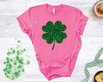 free shipping Pink truck with rainbow gold kids St Patricks day shirt and shamrocks shirt toddler shirt-short sleeve