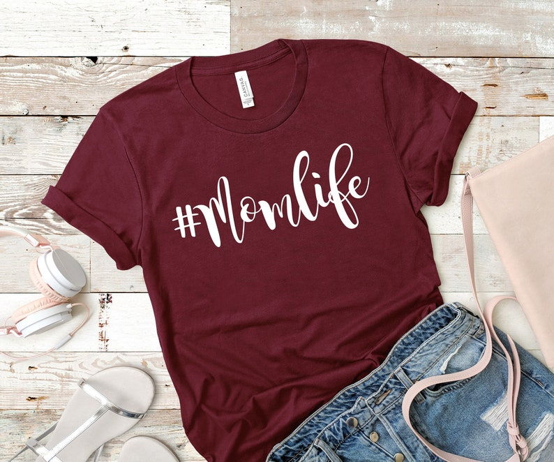 Mom Shirts Momlife Shirt