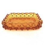 Ashtray Gold Hobnail Glass Ashtray, Tobacciana, Mid Century Ash Tray, Smoking Accessories, Cigarettes, Cigars