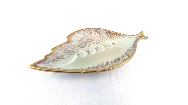Royal Haeger ASHTRAY Leaf Design  MId Century Modern  image 1