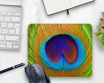 Charmant Cute Mouse Pad, Peacock Mouse Pad, Desk Accessory, Cute Office Decor, Office  Accessory, Peacock Feather, College Dorm Accessory, Wildlife