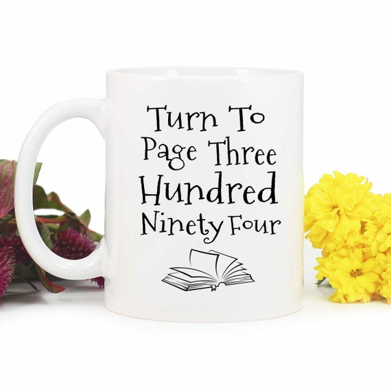Severus Snape Ceramic Quote Mug Harry Potter Alan Rickman Turn to page 394