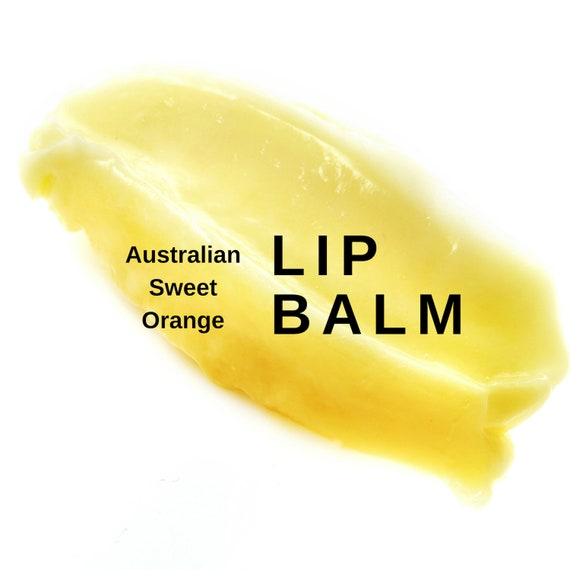Australian Sweet Orange Lip Balm