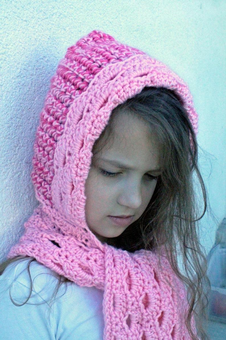 Crochet Hooded Scarf Pattern Shenandoah Scoodie Crochet Etsy