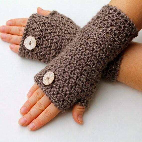Crochet Pattern Fingerless Gloves Crochet Pattern Pdf File Etsy