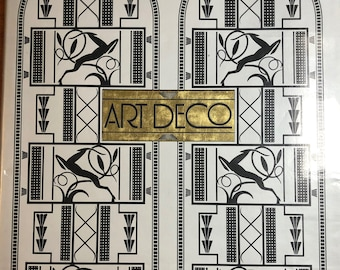 Art Deco Hardcover Book by Victor Arwas, Edited by Frank Russell