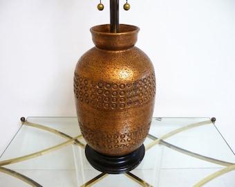 Bitossi Ceramic Table Lamp Mid Century Modern Lamp