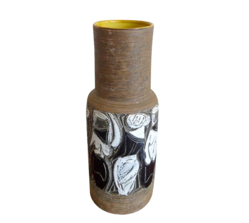 Fratelli Fanciullacci Raymor Pottery Vase Mid Century Modern image 0