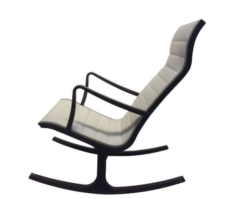 Mid-Century Modern Heron Rocking Chair by Mitsumasa Sugasawa image 0
