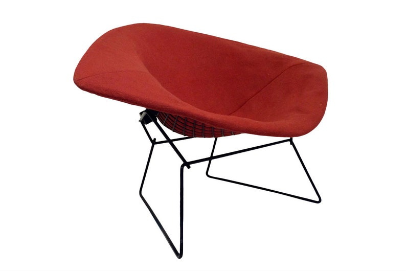 Mid Century Modern Large Diamond Chair by Harry Bertoia for image 0