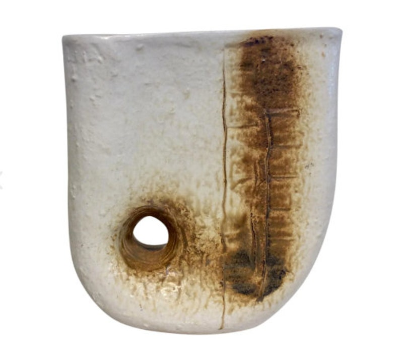 Mid-Century Modern Abstract Sculptural Vase image 0