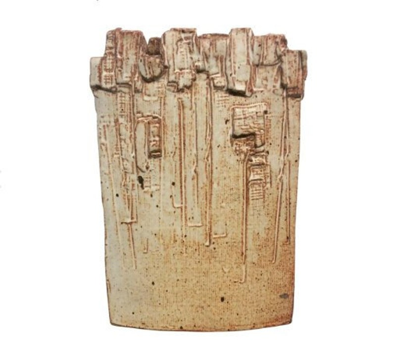 Mid-Century Brutalist Abstract Vase image 0