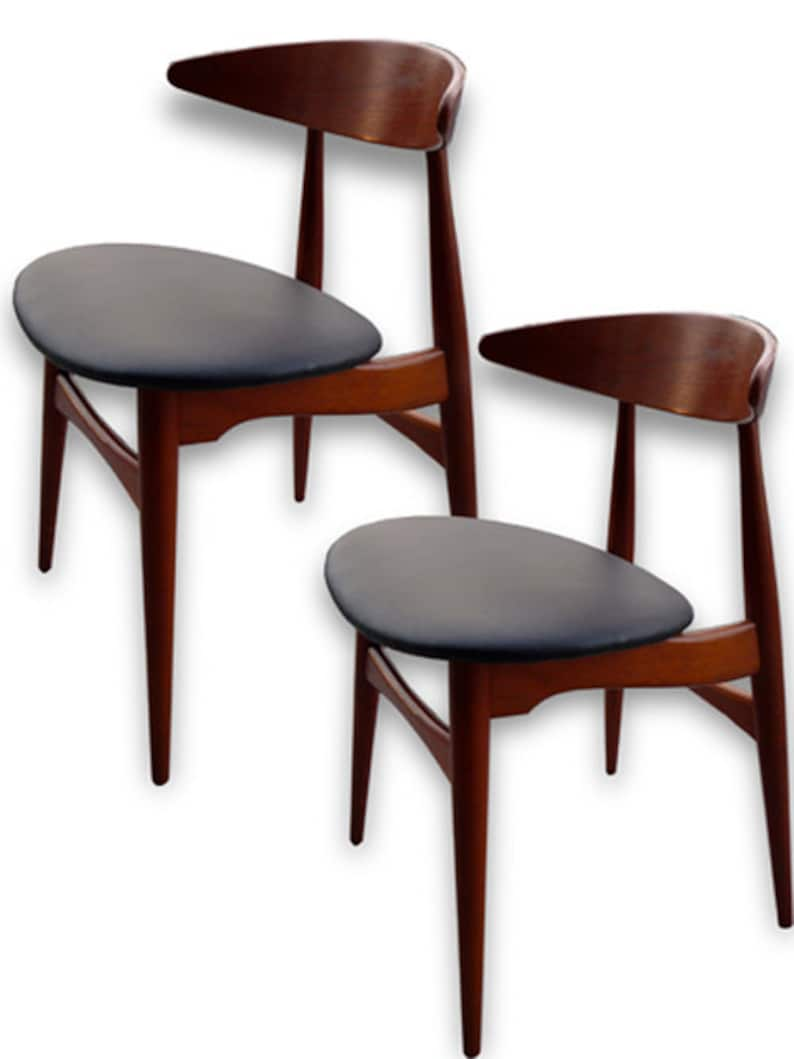 Mid-Century Modern Hans Wegner Dining Chairs CH-33 Set of 6 image 0