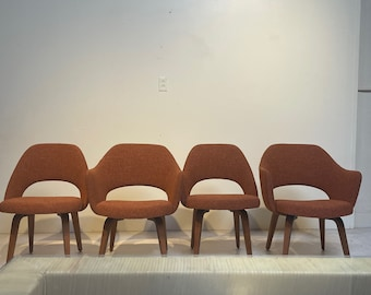 """Vintage Saarinen for Knoll Executive """"Volo"""" Conference chairs SET OF 4"""
