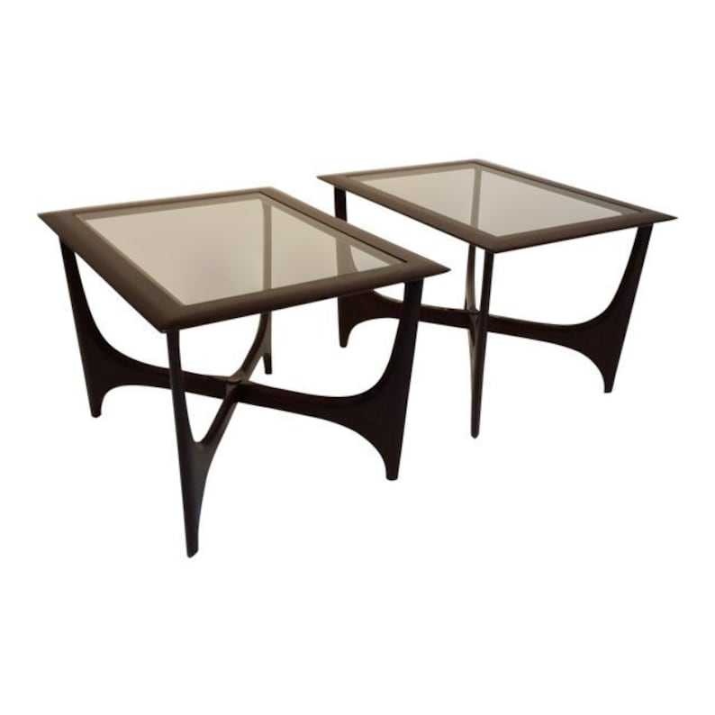 Adrian Pearsall Style Side Tables By Lane Mid-Century Modern image 0