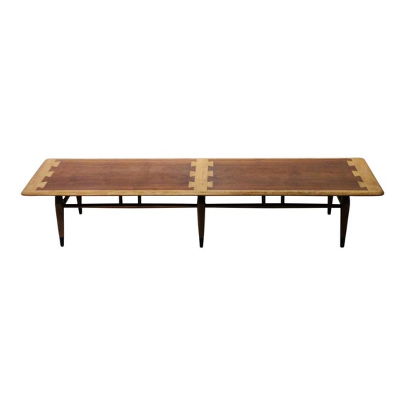 2678e00b48fd8 Mid-Century Modern Lane Acclaim Series Long 6 Leg Coffee Table