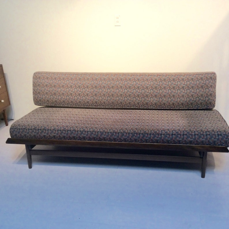 Mid Century Modern Sofa Pull Out Daybed Etsy