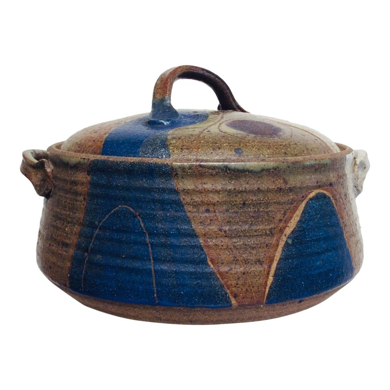 Mid-Century Modern Lidded Ceramic Pottery by Frank Matranga image 0