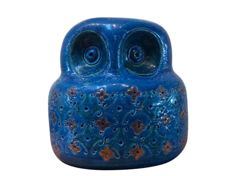 Italian ceramic owl by Bitossi image 0