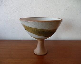 Signed Brent Bennett Pottery Mid Century Modern Pottery
