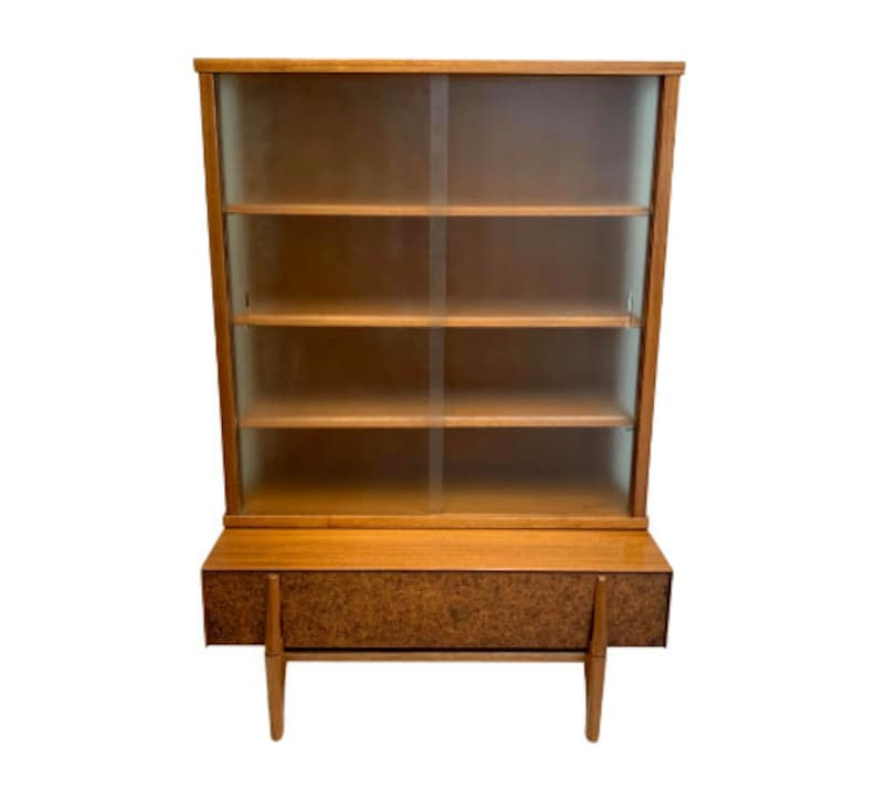 Mid Century Modern Display Cabinet by John Keal for Brown image 0