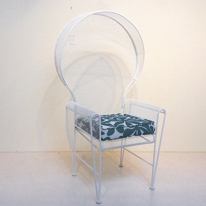 Rare Russell Woodard Patio Chair Mid-Century Modern Outdoor image 0
