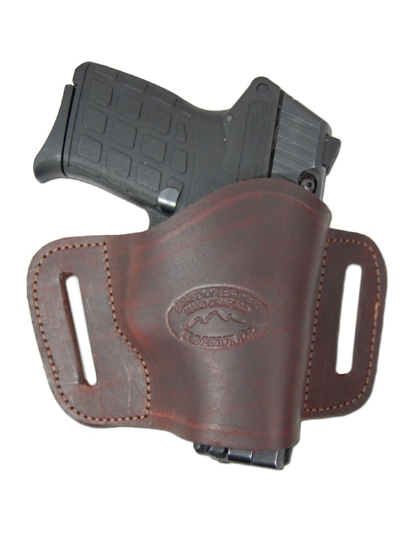 New Barsony Brown Leather Quick Slide Holster Bersa Star 380 Ultra Comp 9mm 40