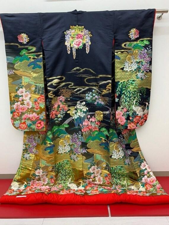 Uchikake Kimono, Wedding Kimono, Japanese Kimono ,