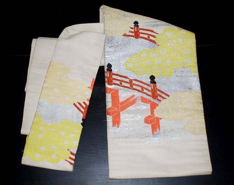 Obi for kimono, Japanese gift Belt for Kimono Oriental Fabric Silk Japanese Silk Fabric Silk Obi Belt Obi belt sash Vintage Obi Belt