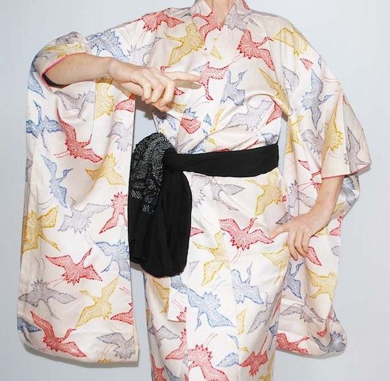Furisode, Silk Furisode, Furisode Kimono, Silk Kim