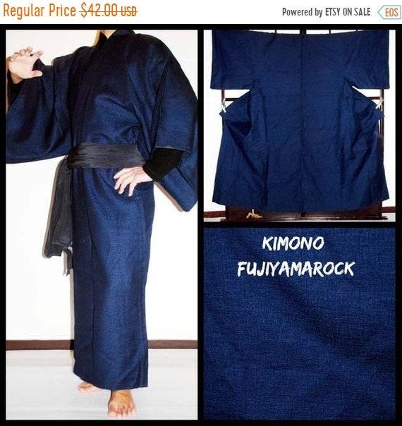 Kimono Men Mens Kimono Kimono Vintage Kimono Japanese | Etsy