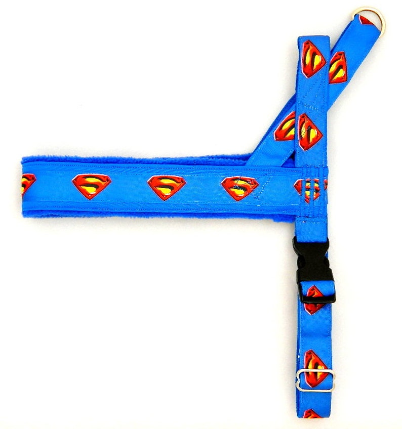 For dog bulldogs pugs IG sighthounds Italian greyhound maltipoo chihuahua poodle whippet Norway harness with Superman for a dog