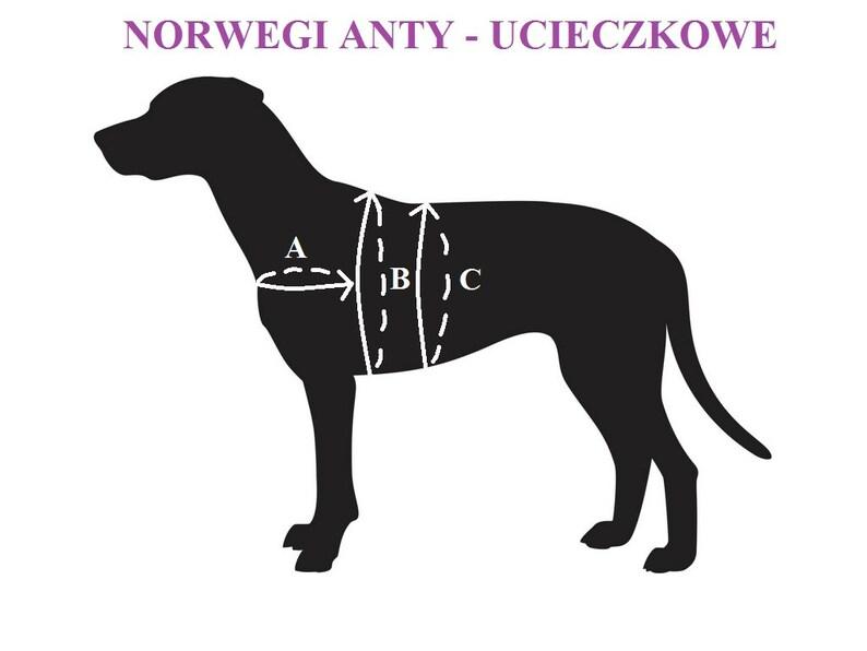 dog harness norwegian harness Norway anti escape harness triple harness custom size dog accessories greyhuond harness safe harness