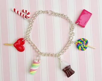 Classic Candy Charm Bracelet