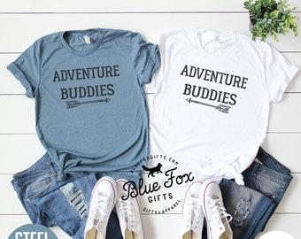 Adventure Buddies Couples Shirt Set a79af4e8d