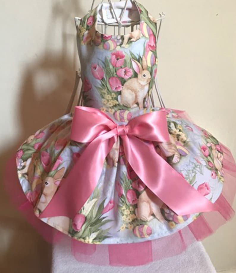 Easter Dog Dresses Easter Pretty In Pink Bunny Dog Dress Dress For Dogs
