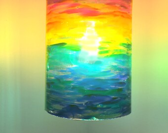 Rainbow Pendant Lamp