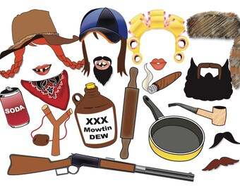 viking photo booth props party set 12 piece printable fun etsy
