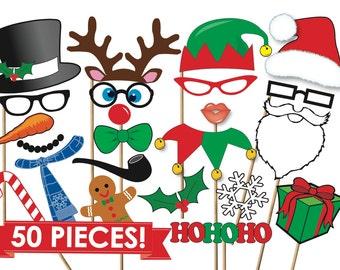 Photo Booth Weihnachten.Weihnachten Prop Etsy