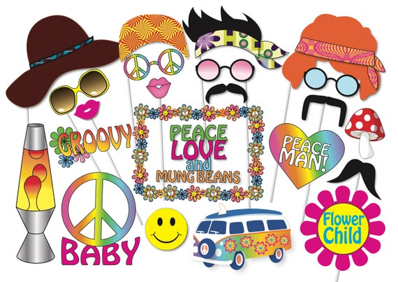 10pk Magic fête photo booth props Set