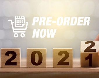 2022 Planners pre-order now!