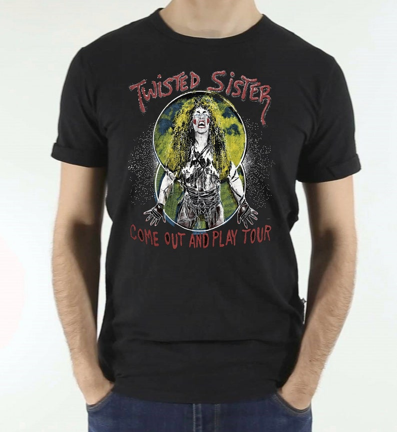 d6b09cd04dce8 Twisted Sister Shirt Vintage tshirt 1985 Come Out And Play Tour