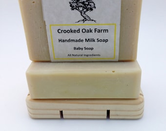 Handmade Baby Milk Soap