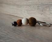 Keychain brown