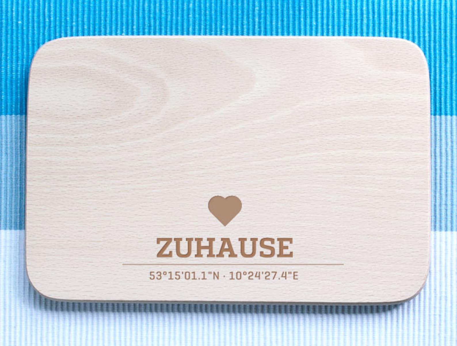 Personalized Breakfast Board» Home «