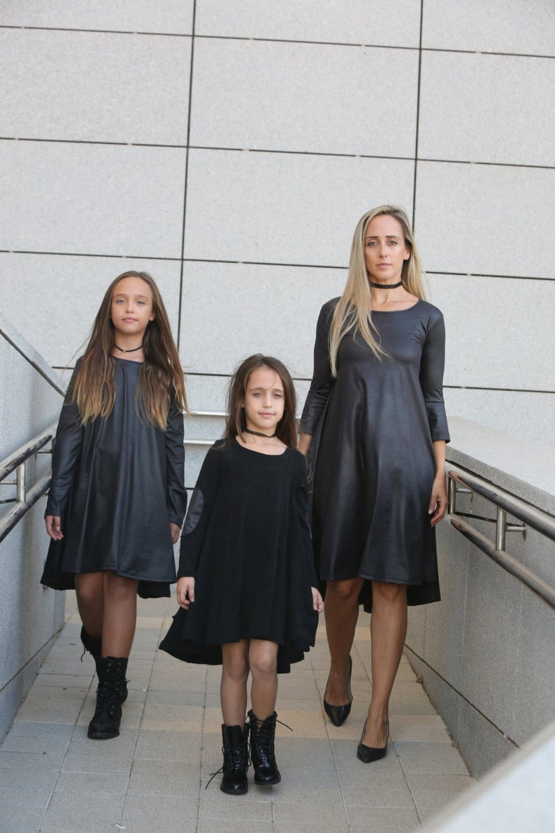 Gifts for mothers,Mommy and me dress,Mom and daughter matching,Black mother and daughter matching dresses,Black Dress Gifts for her
