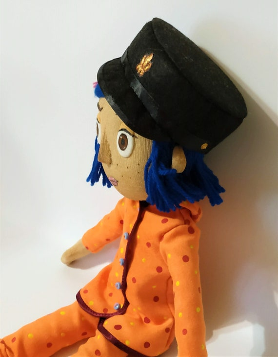 Coraline Doll In Pajamas Etsy